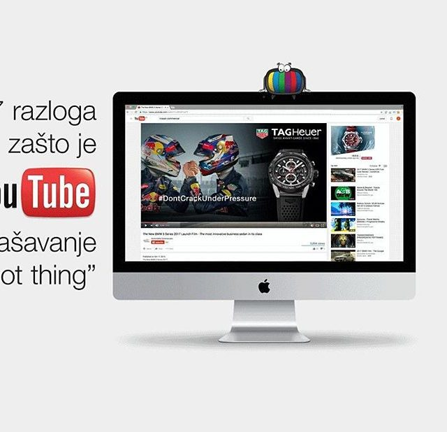 7 razloga zbog kojih ete YouTube oglaavanju rei DA! Akohellip