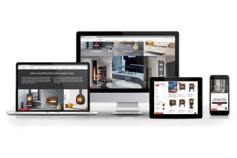 Izrada web stranice – Kamin Studio