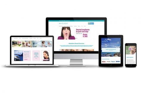 Izrada web stranice – Dentalna klinika Maredent