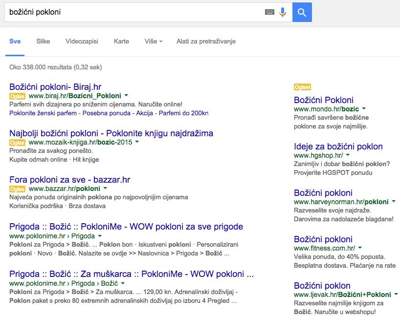 Google oglašavanje Radionica