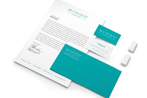Visual identity of Dental clinic Maredent