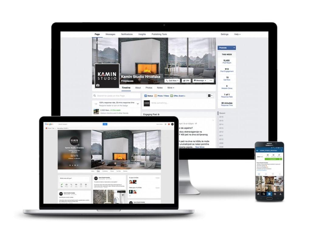 Društvene mreže - Kamin Studio i Jøtul