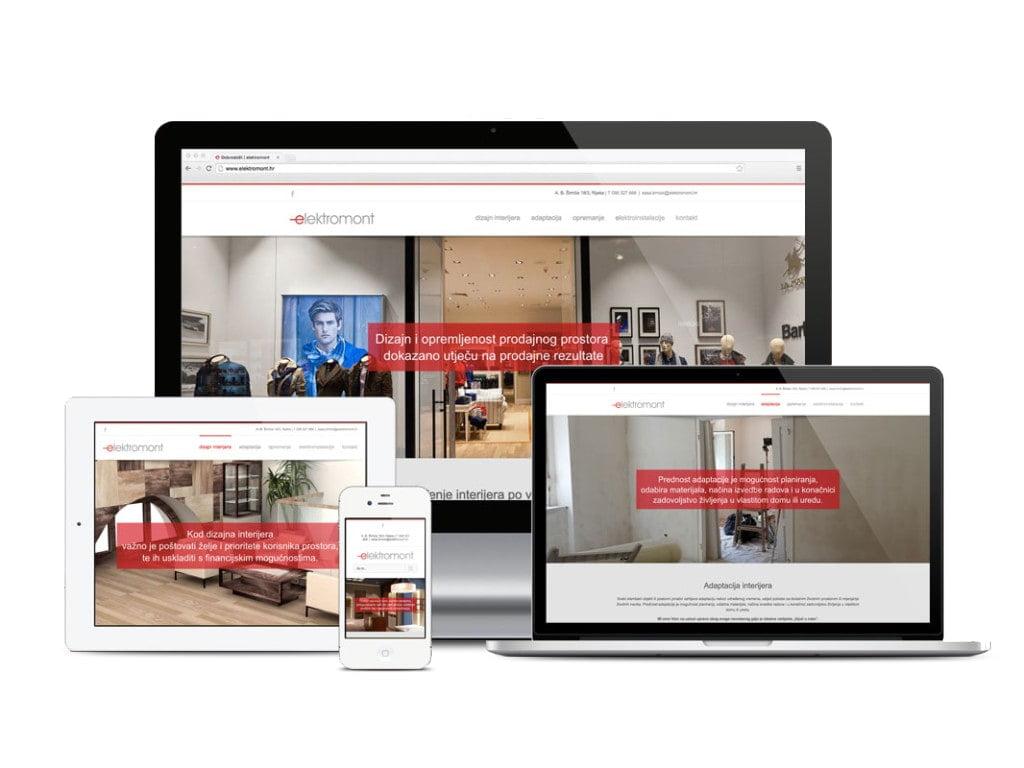 Elektromont website