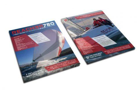 Izrada promotivnih materijala za nautički sajam – Reacher 780