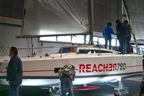 Production of promotional materials for nautical fair – Reacher 780