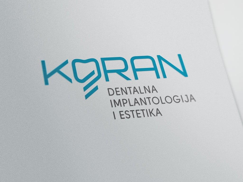Redizajn vizualnog identiteta Radionica dr.Koran