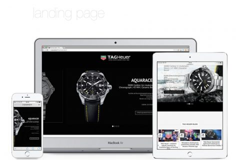 Google Adwords remarketing campaign for TAG Heuer