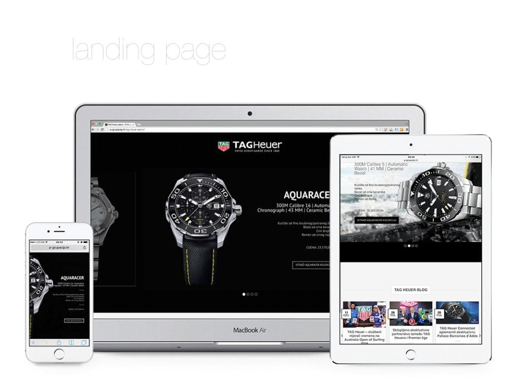 Remarketing kampanja - landing page - radionica