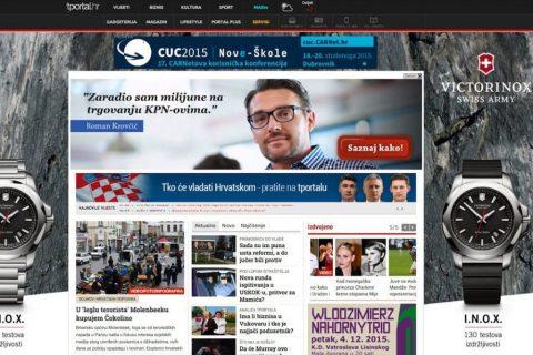 Dizajn web bannera – P-Grupacija
