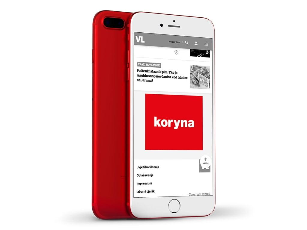 prikaz remarketing bannera na mobilnim uređajima