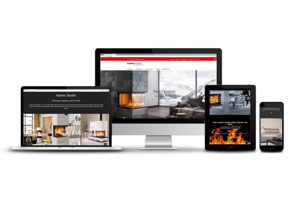 digitalna kampanja za kamin studio