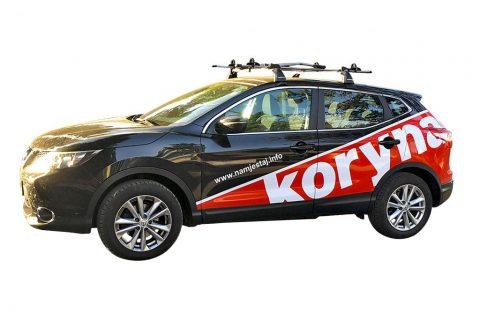 Brendiranje automobila za Koryna namještaj