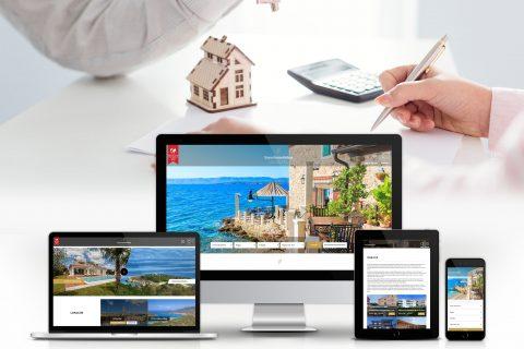 Koncept i dizajn web platforme za Euro Immobilien