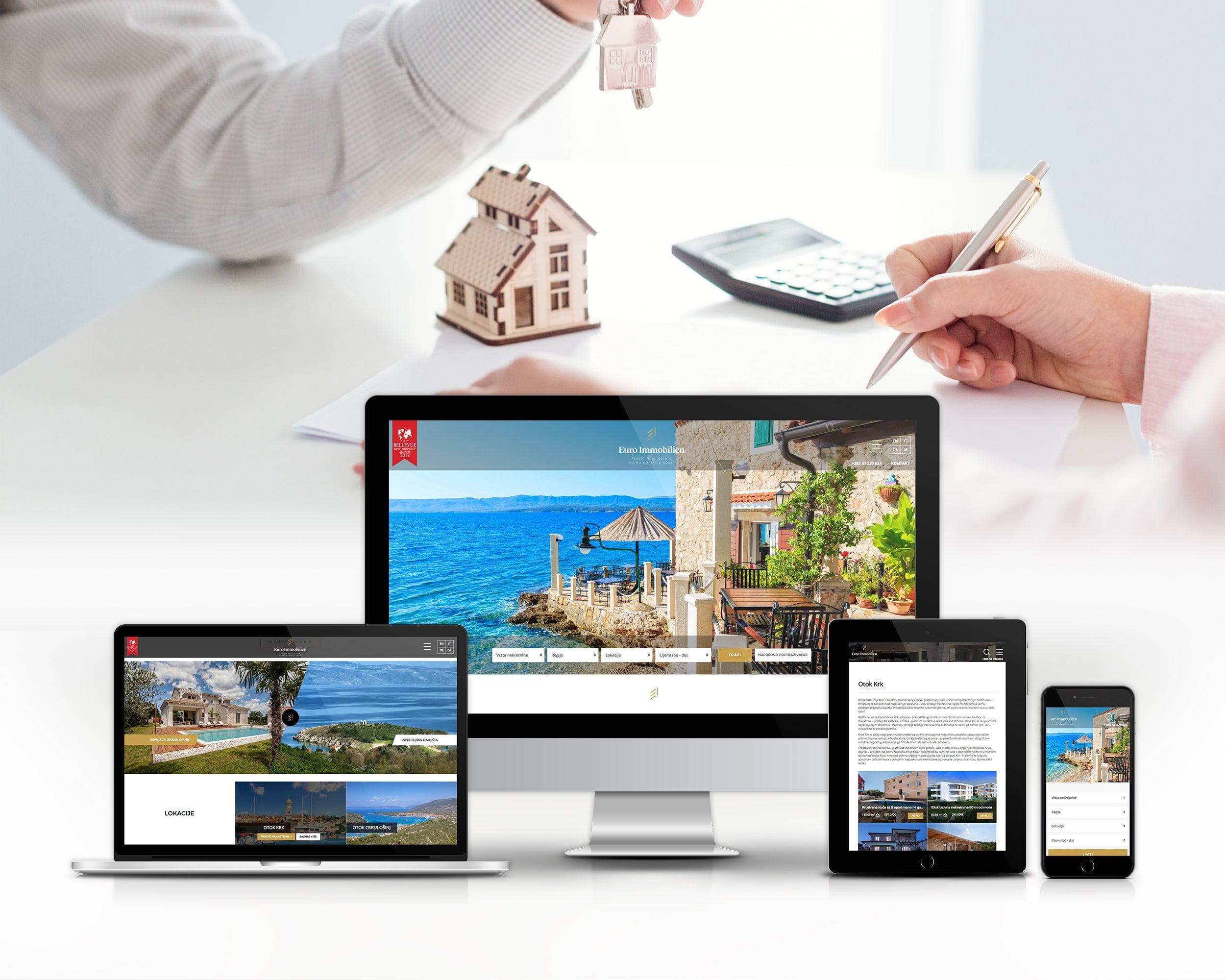 Dizajn web platforme