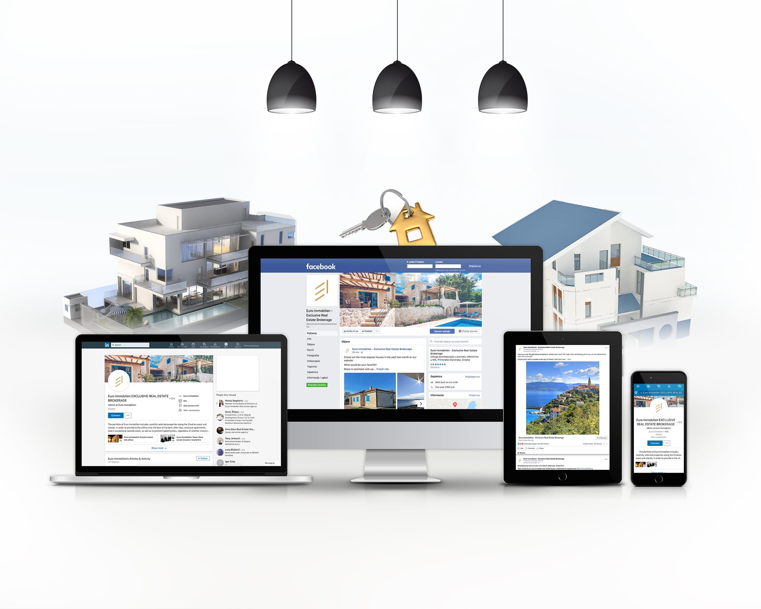 Online strategija Euro Immobilien-radionica