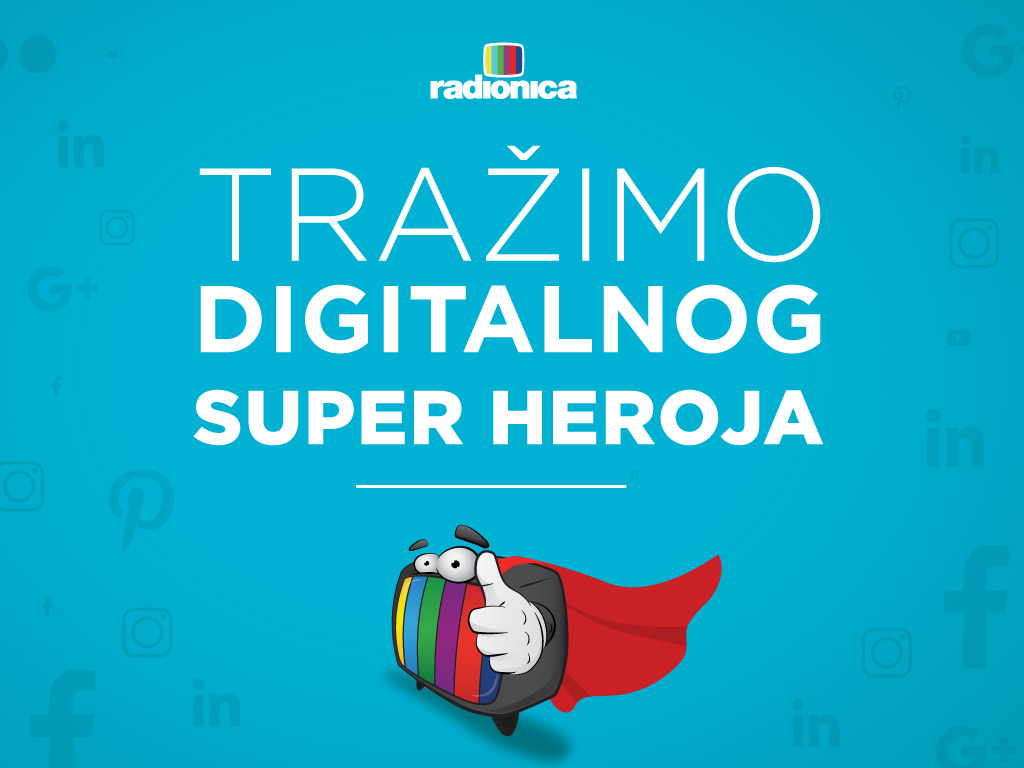 Tražimo digitalnog super heroja