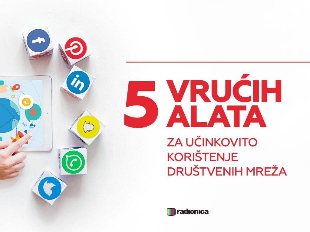 alati za korištenje društvenih mreža