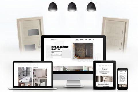 Izrada nove web stranice za Mage doors