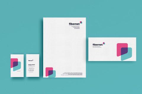 Kreiranje vizualnog identiteta za Fibernet telekom