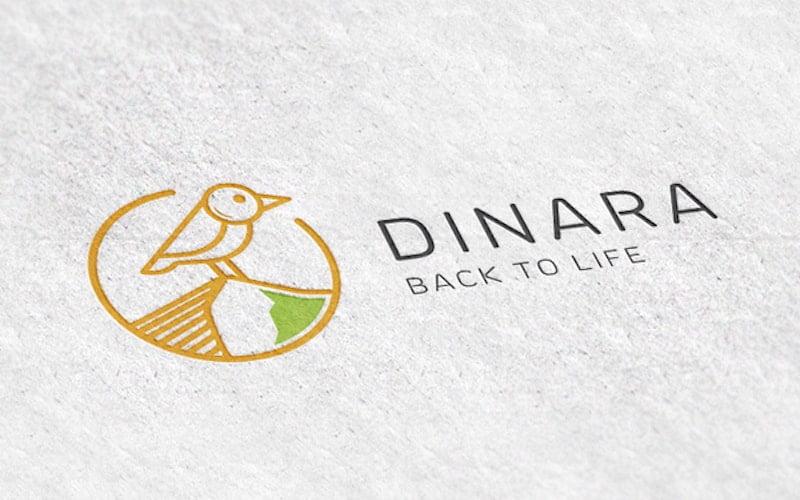Vizualni identitet za projekt Dinara back to LIFE